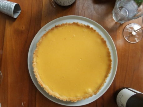 Jason's lemon tart