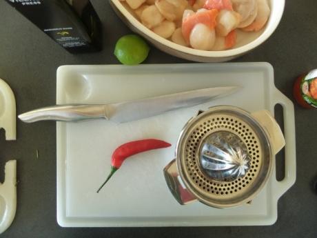 marinade for scallops