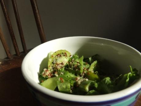 A green salad