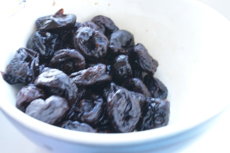 Prunes in light