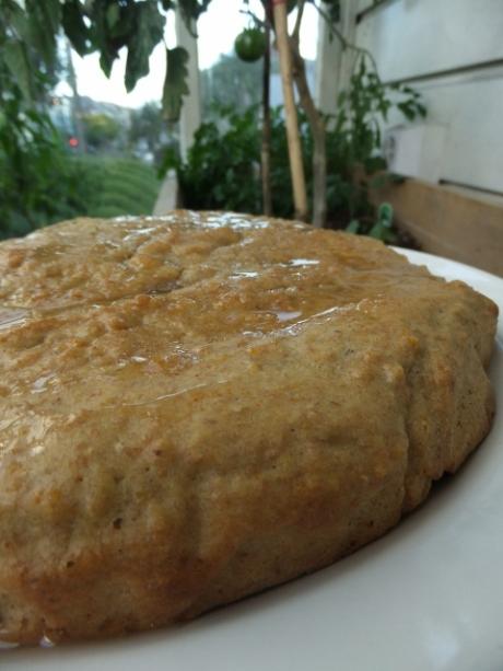 Orange ginger honey cake