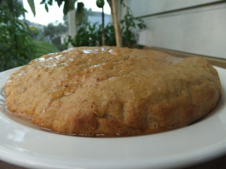 Olive oil, honey cake