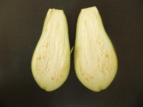 Eggplant halves